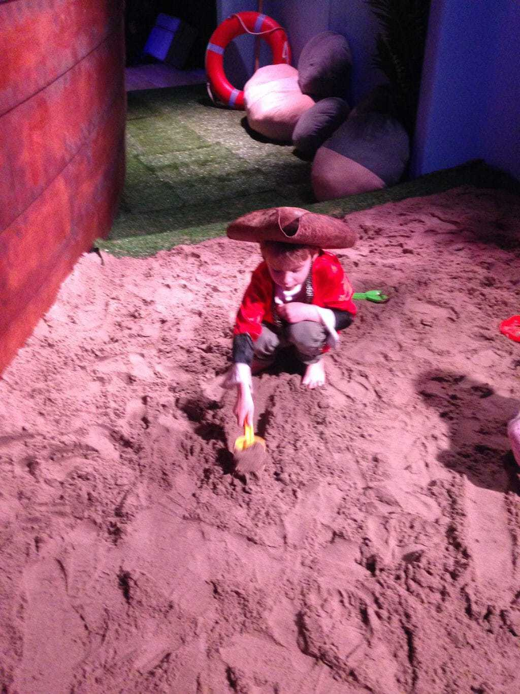 The Storybarn's Treasure Island at Liverpool One