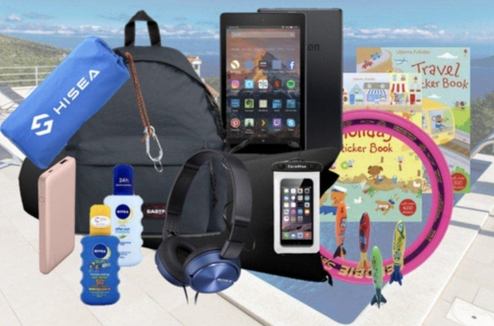 Win a bundle of goodies worth £200, to help make your family holiday even more enjoyable.