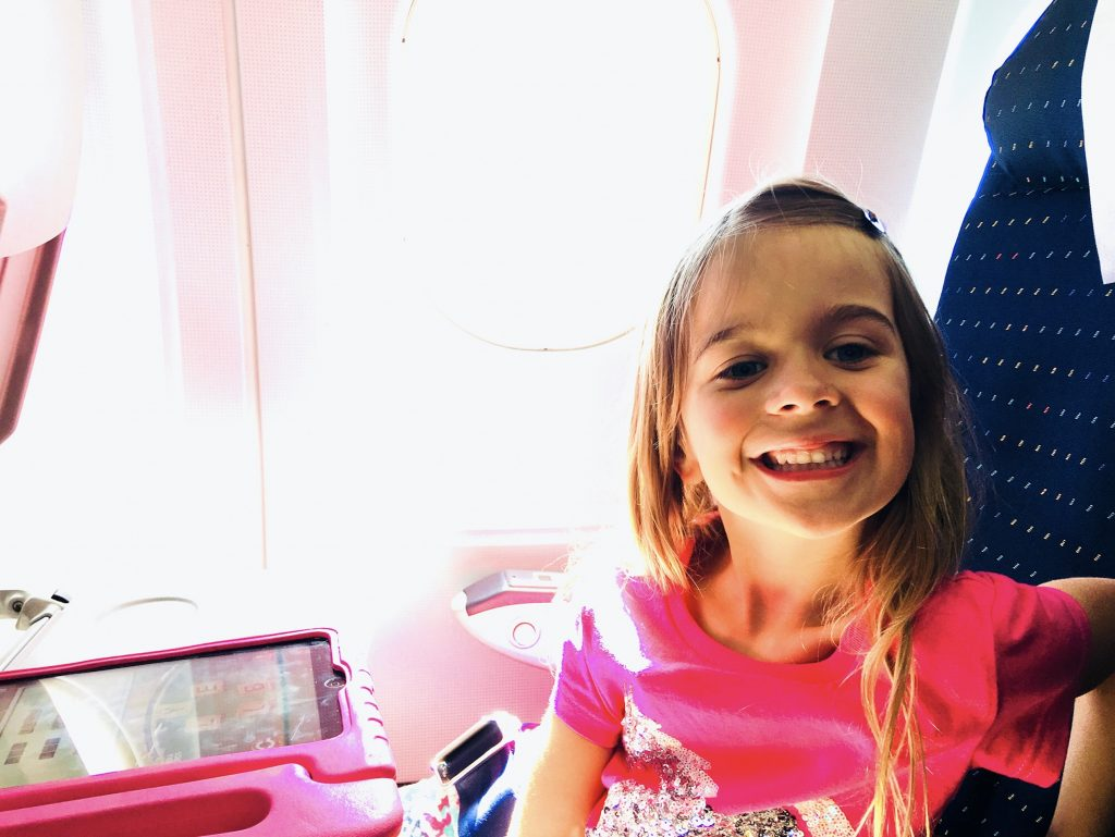 10 Long Haul Flight Essentials with Kids