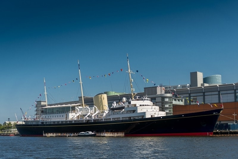 Visiting The Royal Yacht Britannia with Children | Mini Travellers Review