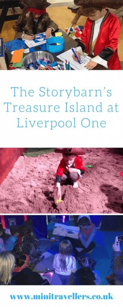 The Storybarn's Treasure Island at Liverpool One