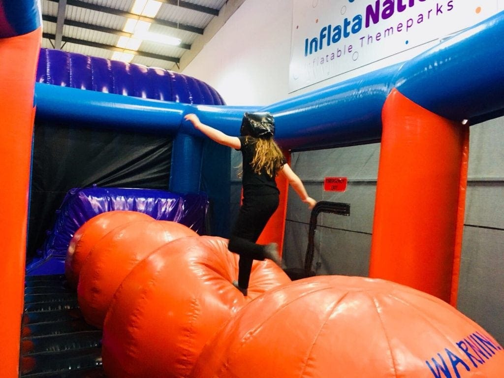 Inflata Nation in Trafford Park, Manchester