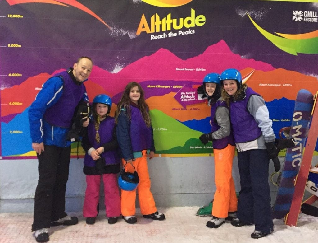 Altitude Activity at the ManchesterChill Factore's Snow Park