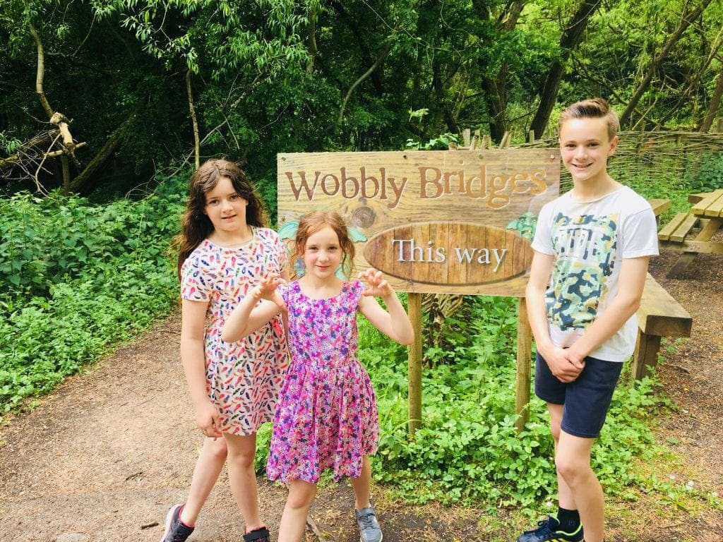 Family Camping at Conkers Camping and Caravanning Club Site and a Day Out at Conkers Forest