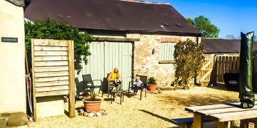 Arch Barn in Pembrokeshire Wales with Costal Cottages
