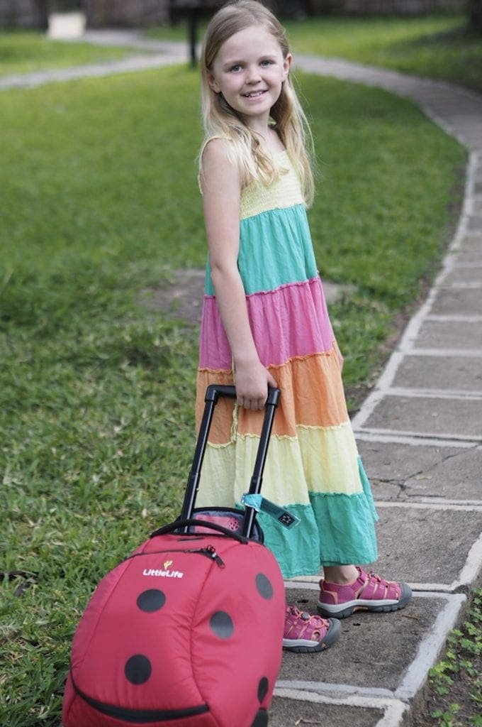 LittleLife Kids Wheelie Suitcase Bag Review | Luggage for Kids