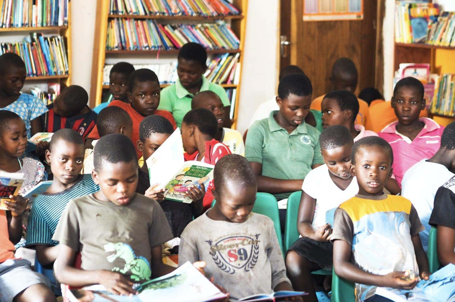 The Book Bus | Malawi Family Travel