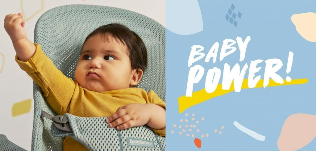 Introducing Baby Power From BabyBjörn | Win a Bouncer Bliss Worth £147