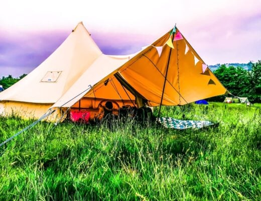 Top Tips for Festival Glamping with Children including a Festival Checklist