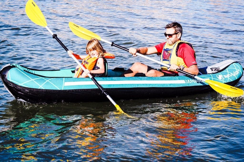 Travel Tips: Sevylor Madison 2 People Inflatable Kayak Review