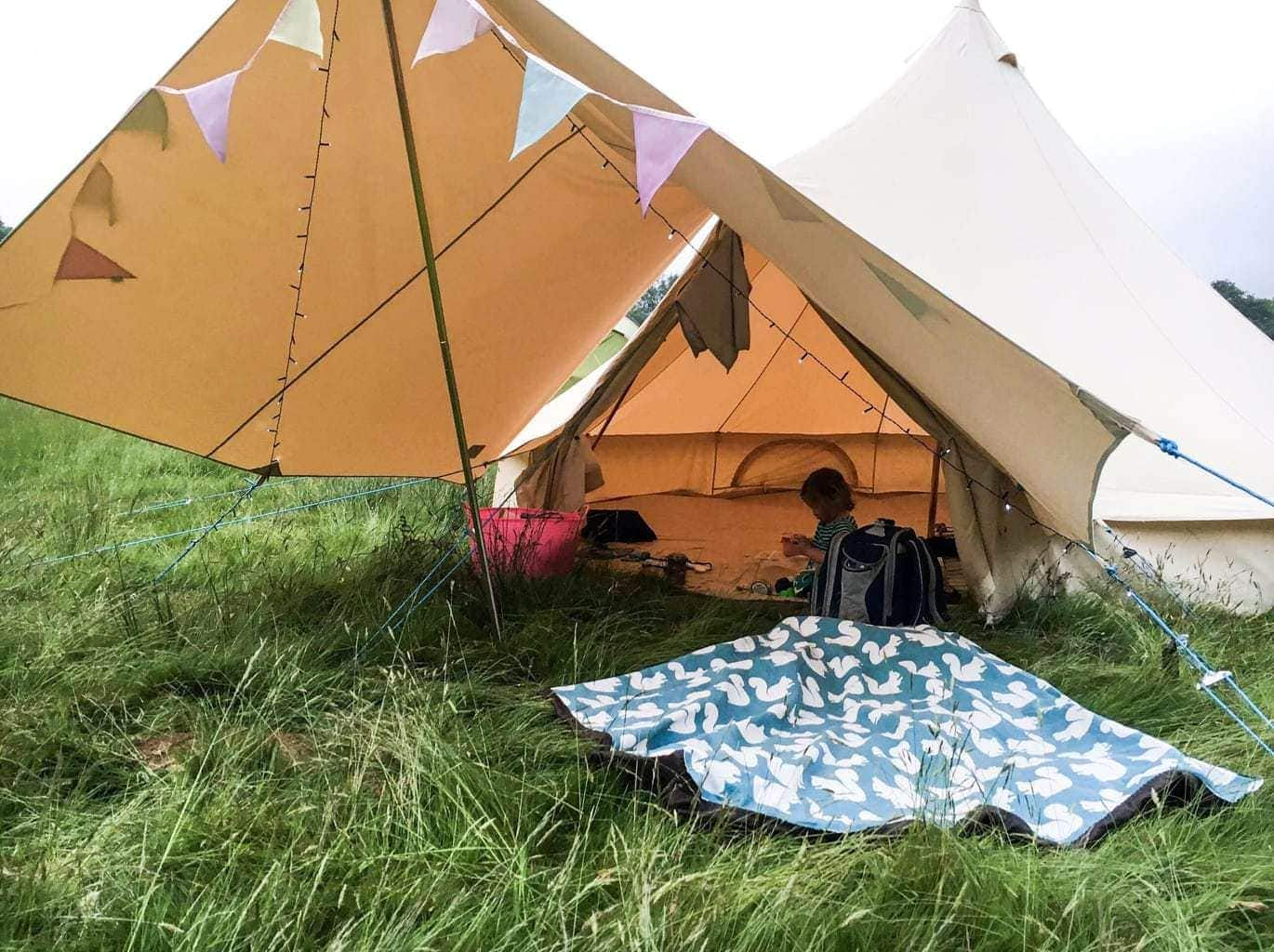 Bell Tent Gl&ing with Bell Tent Boutique & Bell Tent Glamping with Bell Tent Boutique - Mini Travellers ...