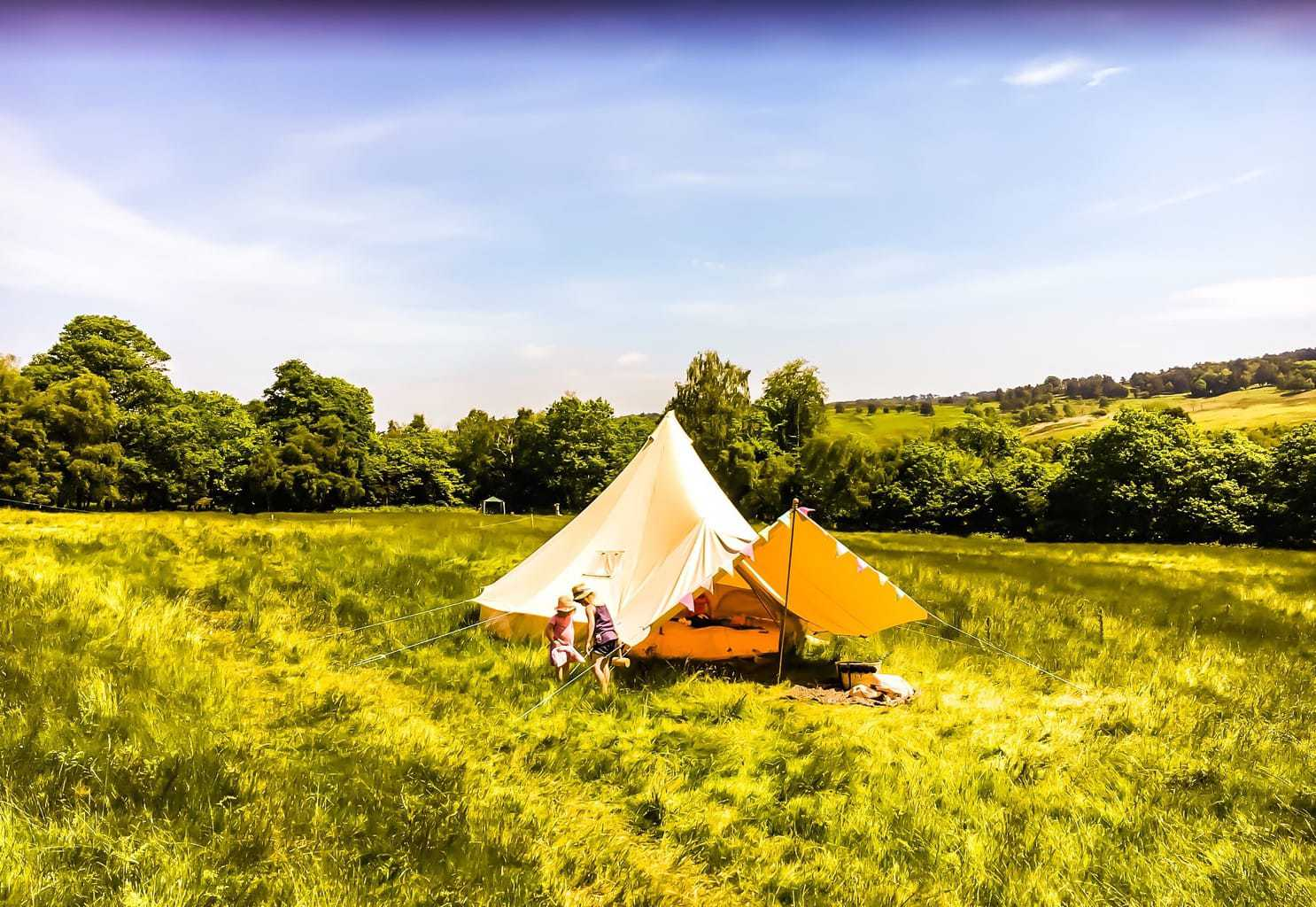 Bell Tent Glamping with Bell Tent Boutique