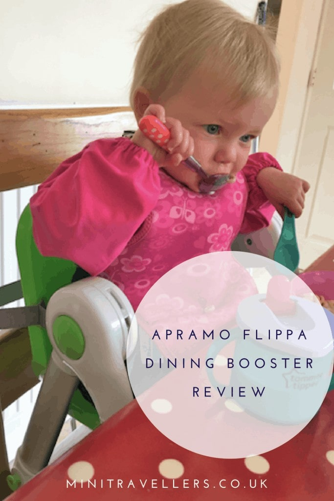 Find out why the Apramo Flippa dining booster seat is great for picnics, travelling, holidays, festivals and at home in our review on Mini Travellers