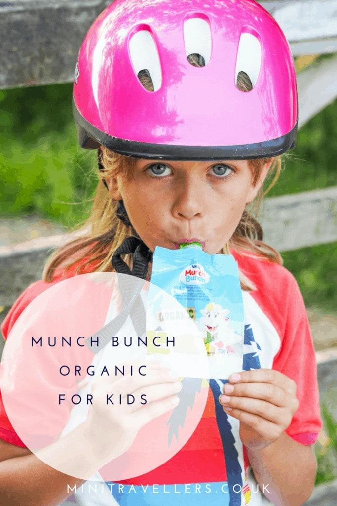 #FeedTheirPlayfulNature with Munch Bunch Organic