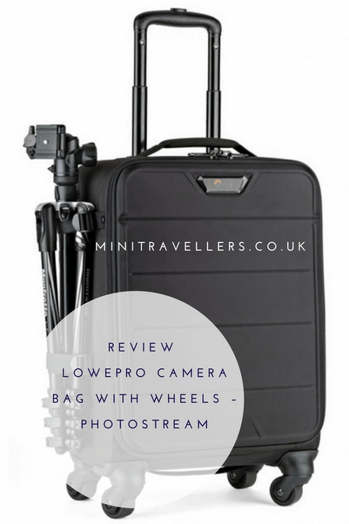 We review the Lowepro PhotoStream - a fantastic option for travelling photographers and travel bloggers who need to travel with lots of camera equipment. Read the review at Mini Travellers