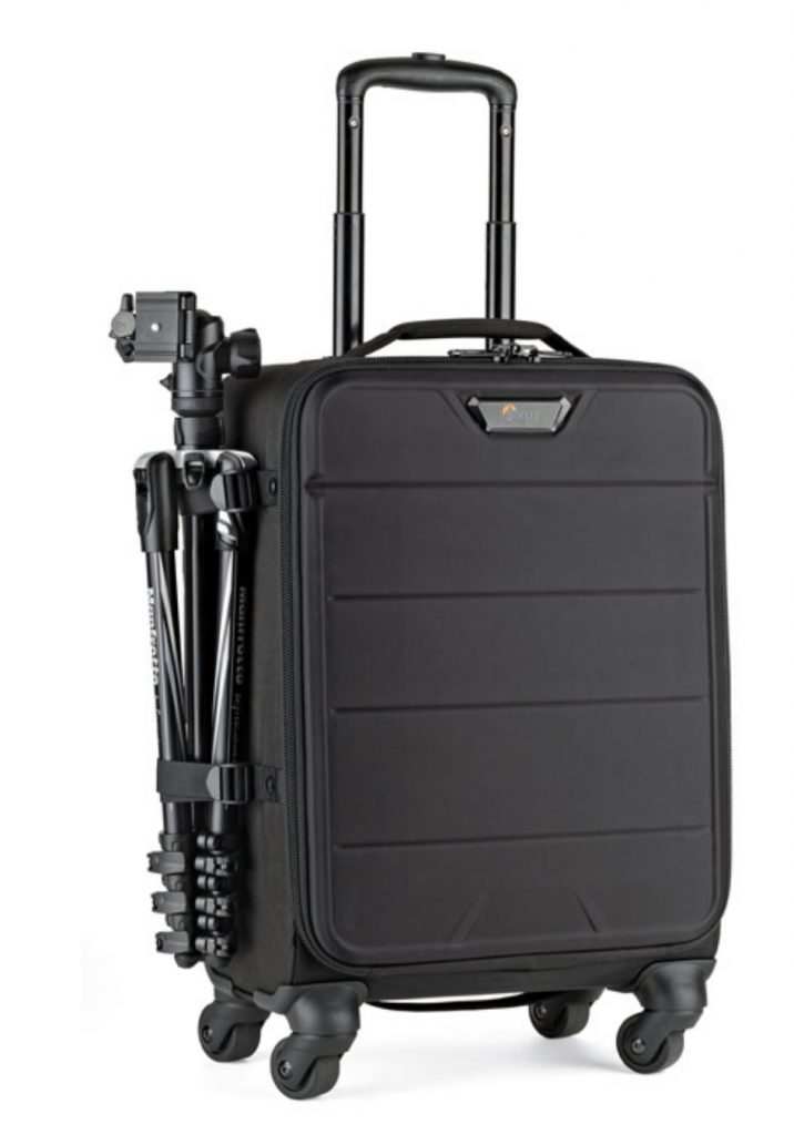 The Lowepro PhotoStream - a camera case with wheels, great for travelling photographers