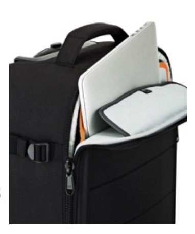 The Lowepro PhotoStream has easy laptop access
