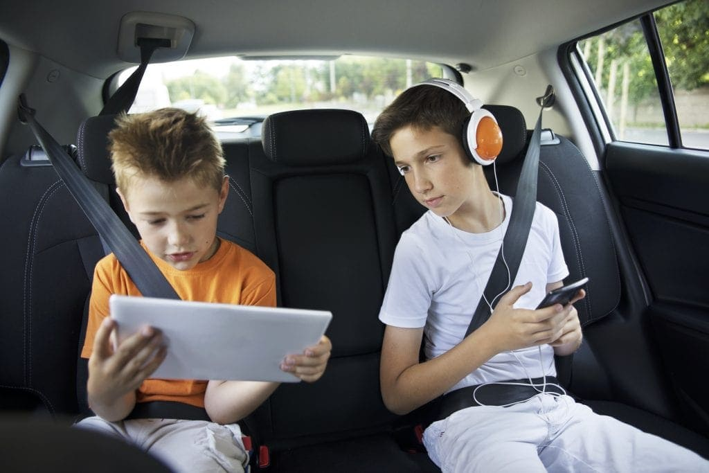 Top tech for trips: keep the kids entertained en-route
