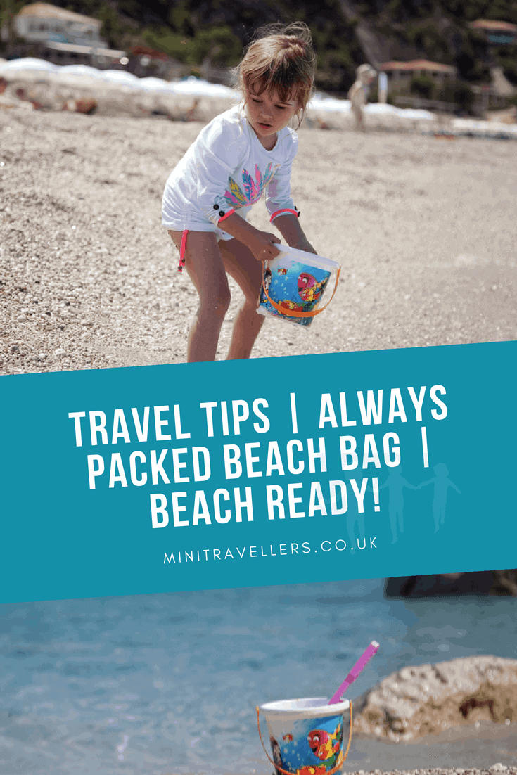 Have you thought about creating an 'always ready' beach bag? This travel tip was shared with me on a recent holiday and it's a great way to be beach ready, save time and take everything you need for a day at the beach.