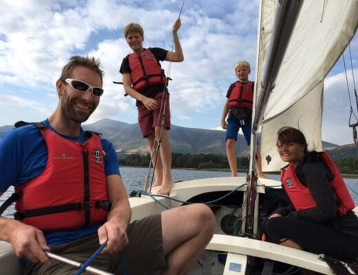 Learn to sail with kids?