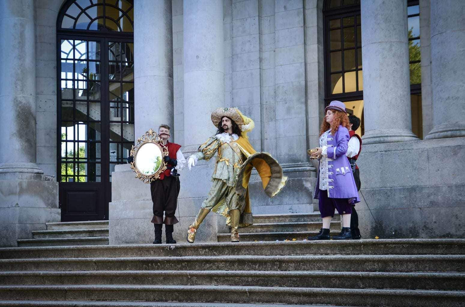 Review | The Three Musketeers Walkabout Theatre | The Dukes Play at Williamson Park