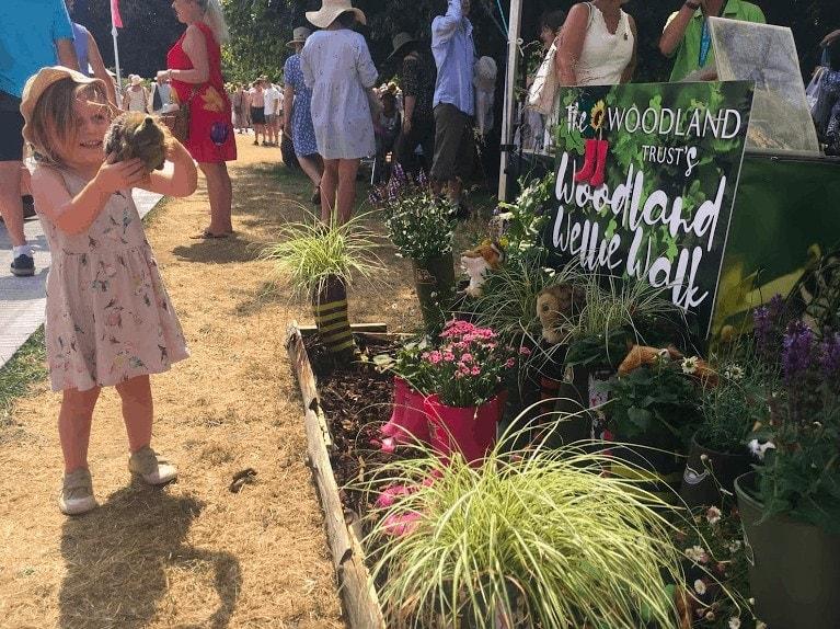 Is Hampton Court Palace Flower Show Child Friendly?