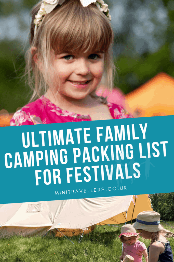 Ultimate Family Camping Packing Checklist