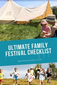 Ultimate Family Festival Checklist