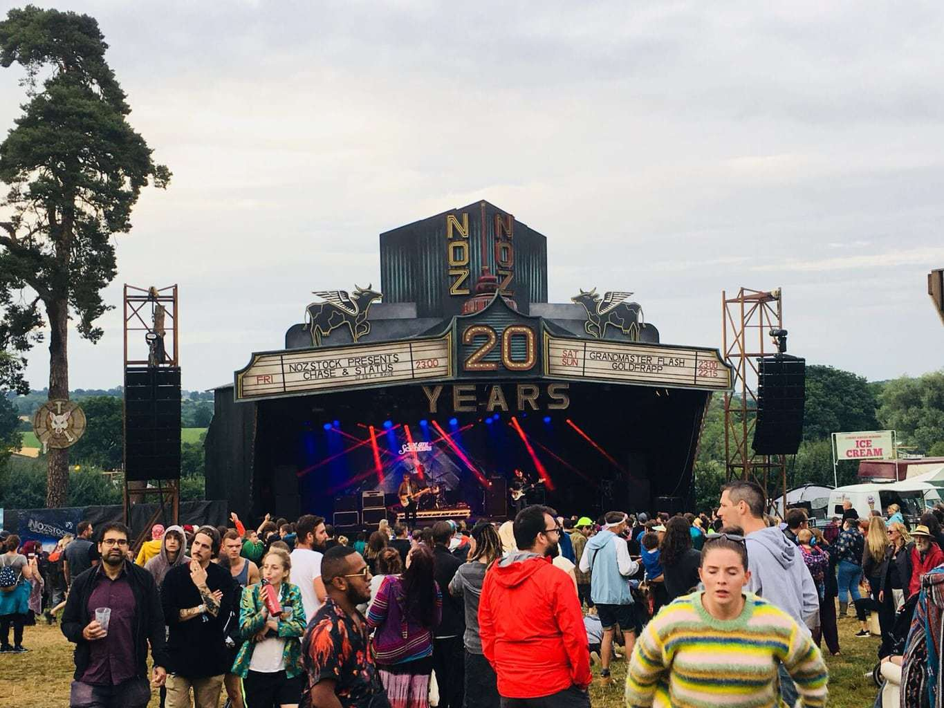 Nozstalgia at Nozstock Festival – still partying hard at 20 Years Young