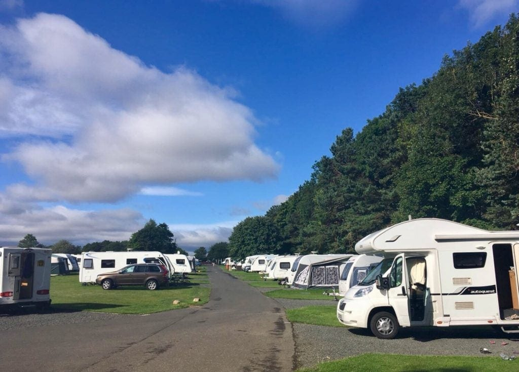 Northumberland Camping and Caravanning Club Sites Review