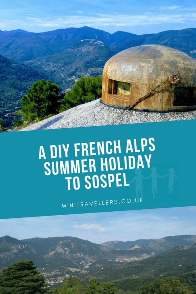 A DIY French Alps Summer Holiday to Sospel www.minitravellers.co.uk