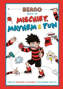 The Beano Book Of Mischief, Mayhem & Fun! by Matt Yeo (Studio Press)