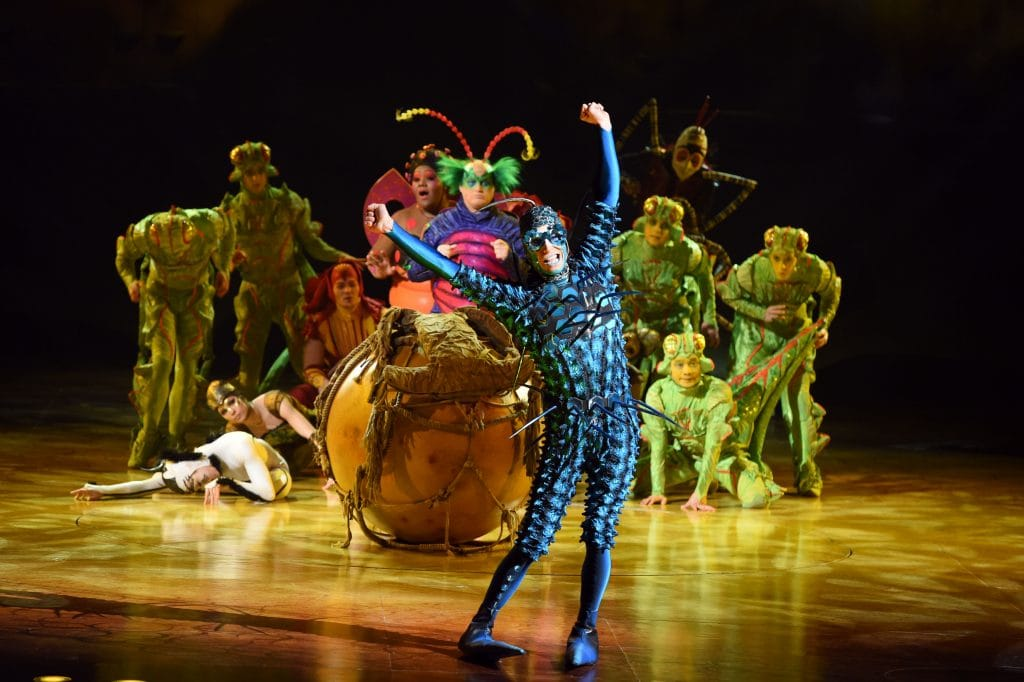 Cirque du Soleil Brings 'OVO' to Arenas Across the UK