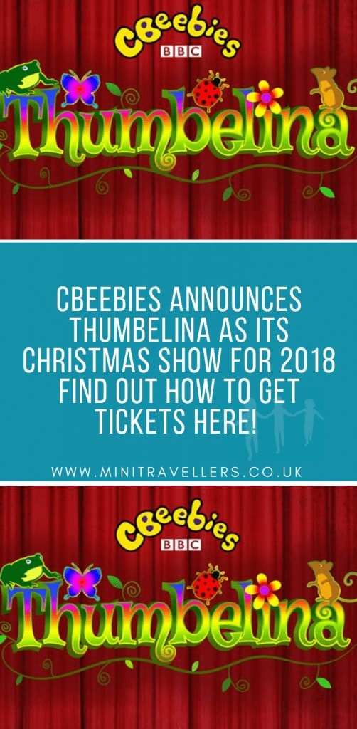 CBeebies announces Thumbelina as its Christmas show for 2018