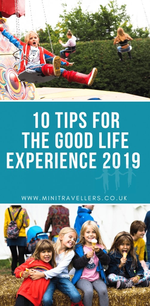 10 Tips for The Good Life Experience 2019