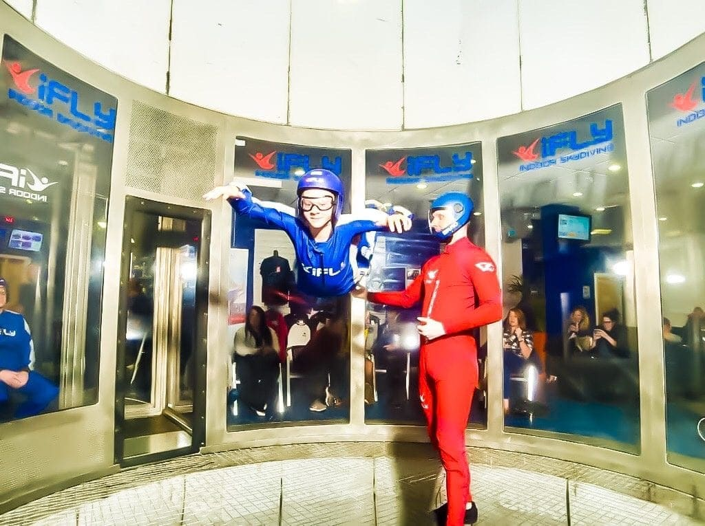 Indoor Skydiving | iFly, near Manchester's Trafford Centre.