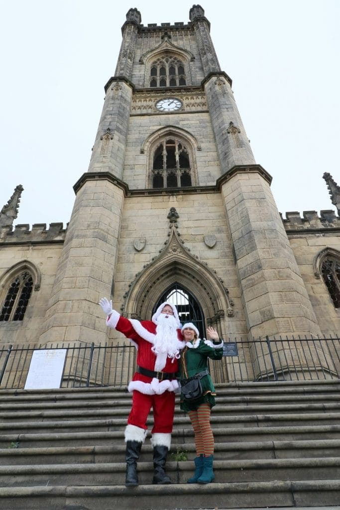 "St Luke's ""Bombed-Out"" Church is Winter Wonderland in Liverpool this Christmas"
