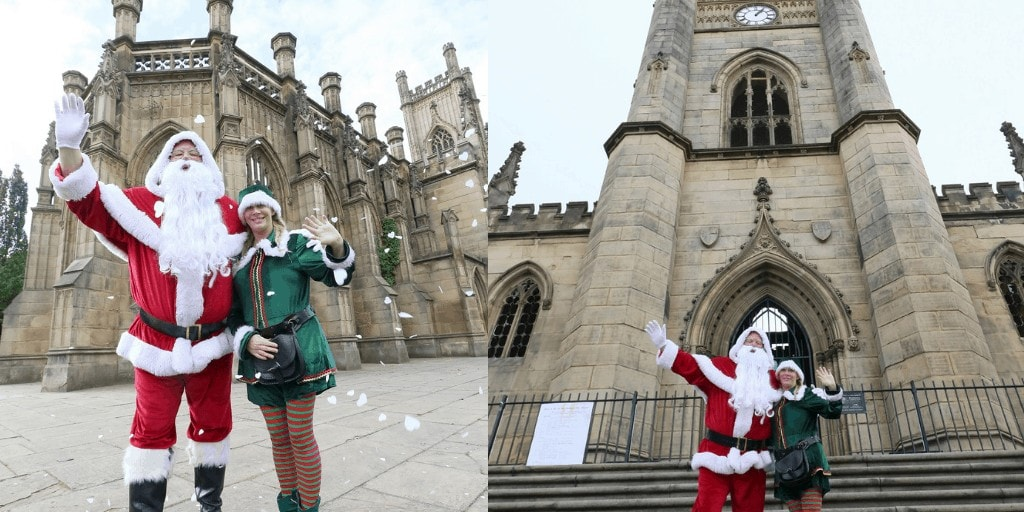 """St Luke's """"Bombed-Out"""" Church is Winter Wonderland in Liverpool this Christmas"""