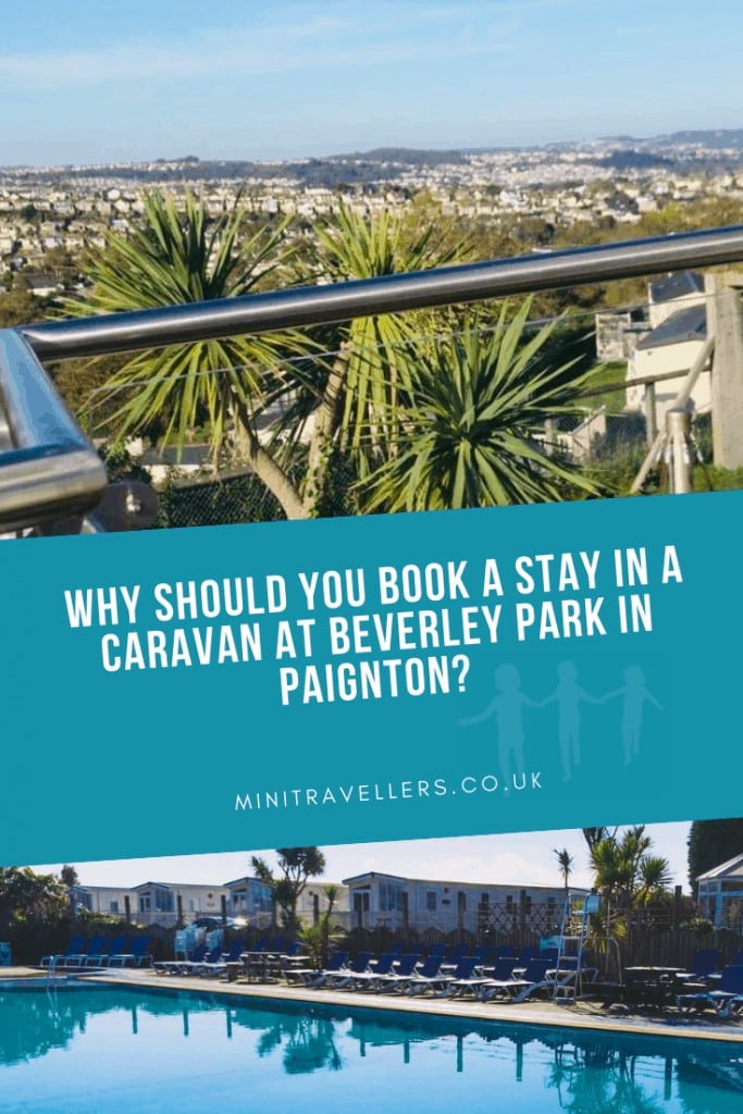 Why should you book a stay in a caravan at Beverley Park in Paignton?