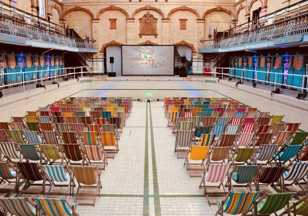 Halloween Screenings at the Historic Victoria Baths
