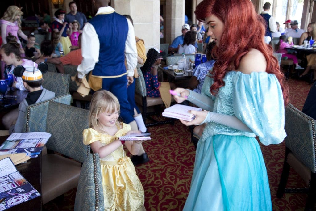 Top 5 Places to find Disney Princesses at Walt Disney World