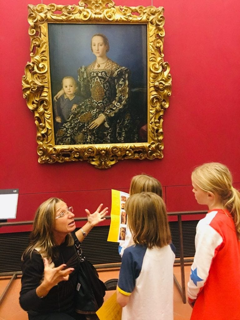 Art Detectives Tour with Europe 4 Kids in Florence | Family Friendly Tour of the Uffizi