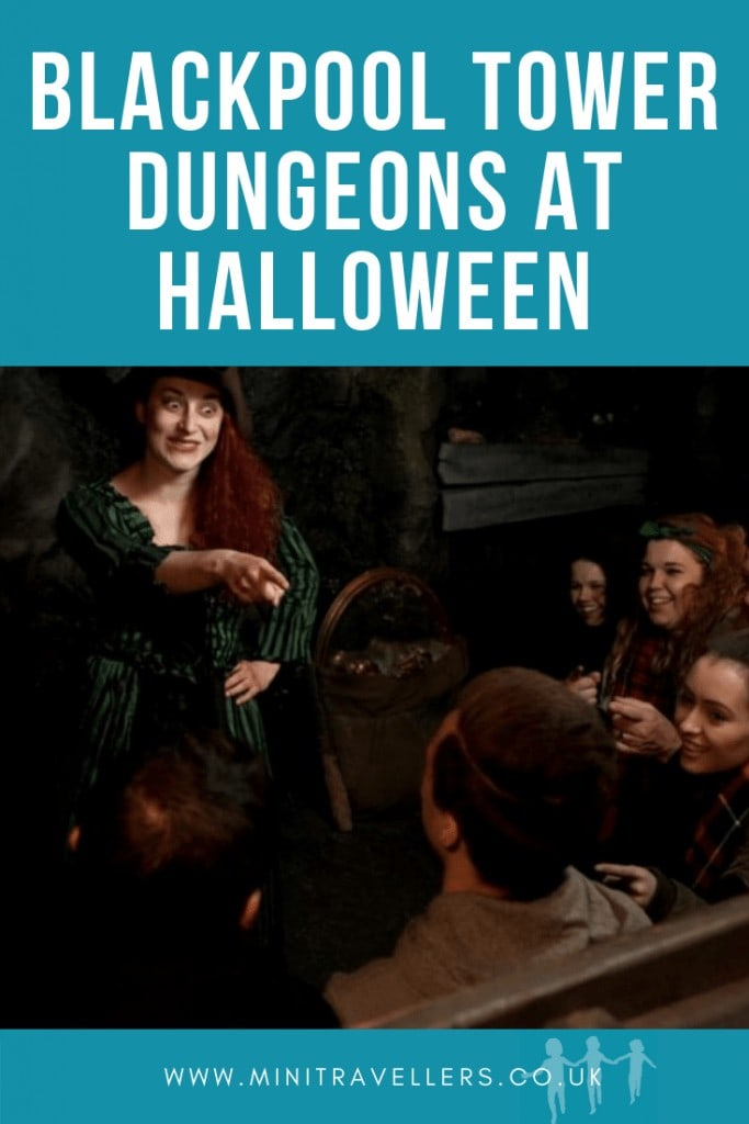 Blackpool Tower Dungeons At Halloween