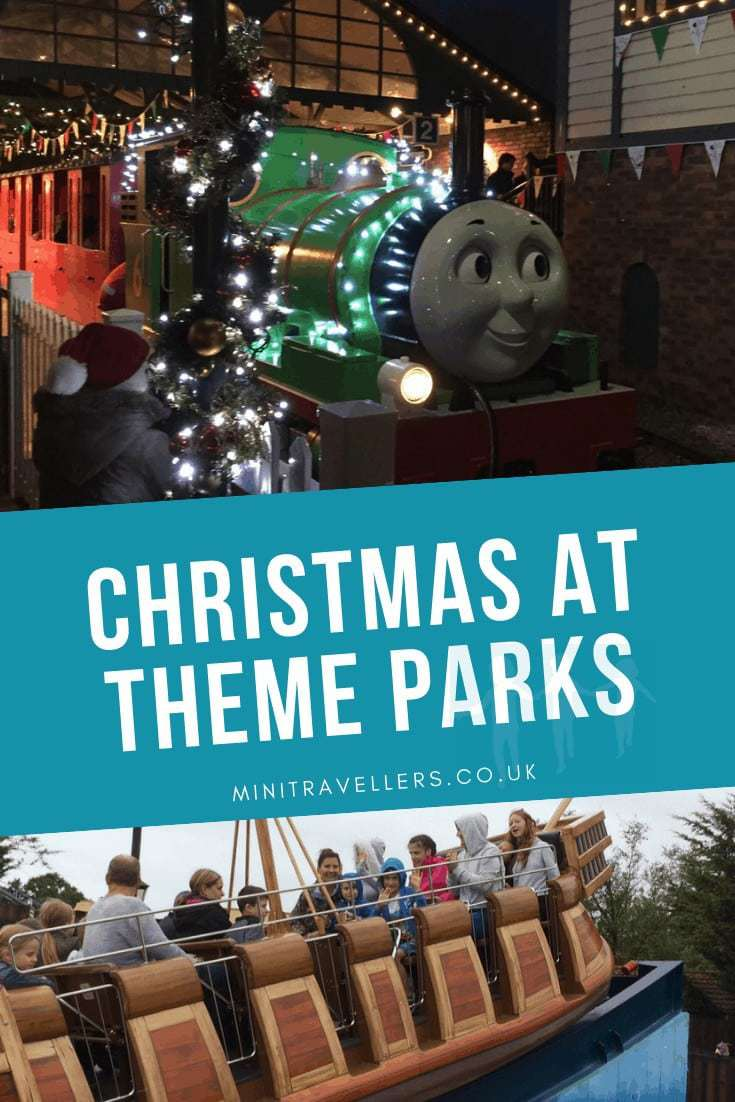 Christmas At Theme Parks