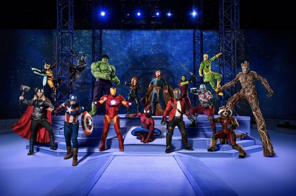 Marvel Universe LIVE! will visit Liverpool for the First Time in 2019 – tickets go on pre-sale TODAY!