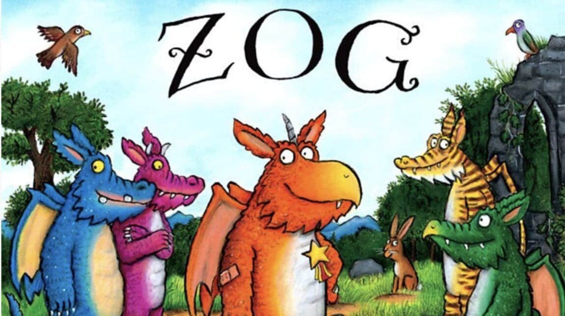 Zog is announced as the Julia Donaldson Film for 2018 on BBC1