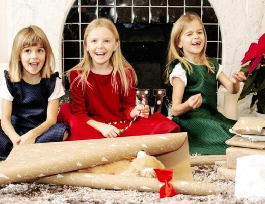 Christmas with David Charles London Dresses