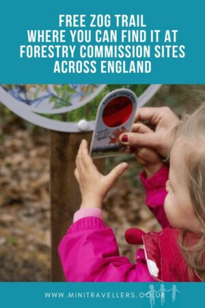 Zog Trail and where you can find it at Forestry Commission sites across England