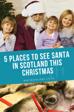 5 Places to see Santa in Scotland this Christmas