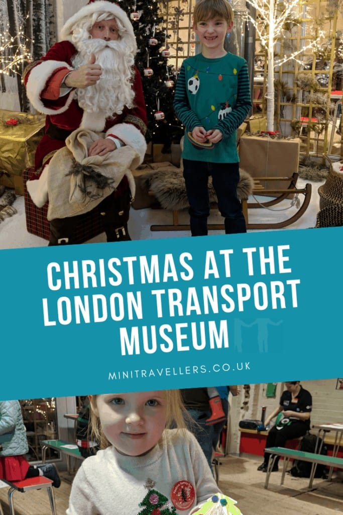 Christmas at the London Transport Museum